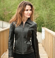 Ladies' Classic Leather Jacket