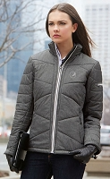 Ladies' Tech Mélange Insulated Jackets With Heat Reflect Technology - Pepsi Globe