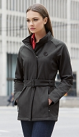 Ladies' 3-Layer Textured Two Tone Soft Shell Jackets