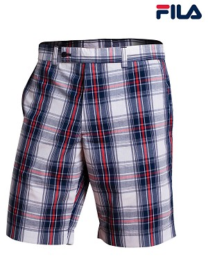 FILA Men's Milos Plaid Bermuda Shorts