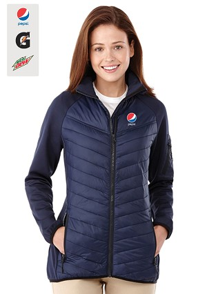 Ladies Banff Hybrid Insulated Jacket