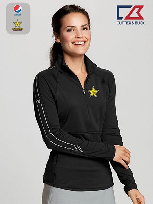 Cutter & Buck Ladies' L/S Pennant Sport 3/4 Zip