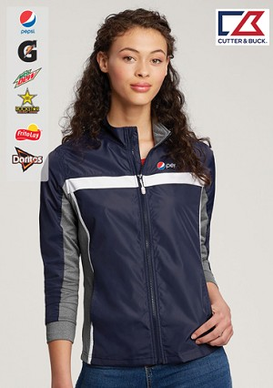 Cutter & Buck Ladies' Swish Full Zip Jacket