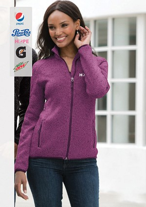 Port Authority® Ladies Sweater Fleece Jacket.....Please Login To see our Special Pricing