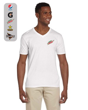 Men's Softstyle® 7.5 oz./lin. yd. V-Neck T-Shirt