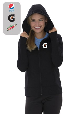 GAME DAY™ FLEECE FULL ZIP HOODED LADIES' SWEATSHIRT