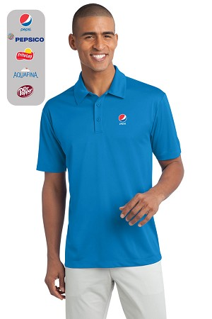 Men's 100% Polyester Wicking Dry-fit Polo