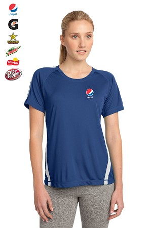 Ladies' Sport-Tek® Colorblock Competitor™ T-Shirt