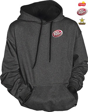 Two Tone Hooded Sweater - Charcoal