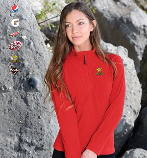 Ladies' Chinook Microfleece 1/4 Zip Pullover