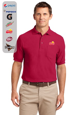 Men's Silk Touch  Polo with Pocket
