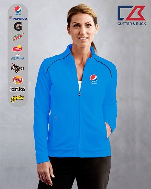 Cutter & Buck Ladies' CB DryTec Edge Full Zip