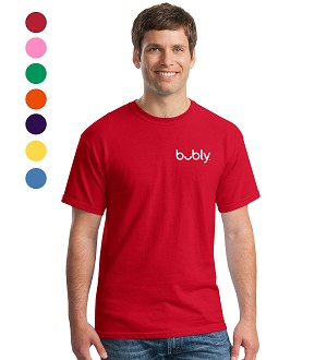 Bubly Men's T-Shirt - Embroidered