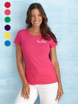 Bubly Ladies' Tshirt - Embroidered