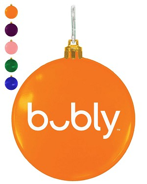"3"" Ellipsoid Ornament - Bubly"