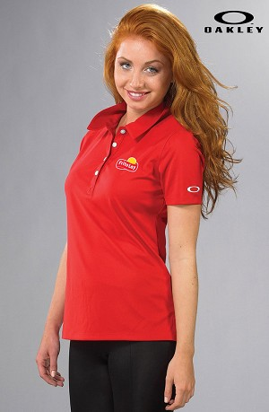 Ladies' Basic Solid Polo - Oakley