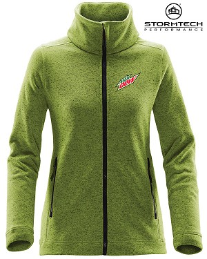 STORMTECH Women's Tundra Sweater Fleece Jacket - MTN Dew