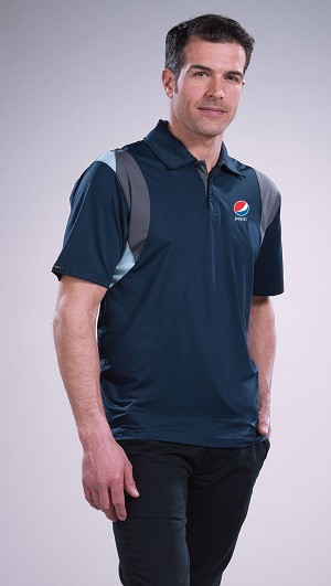Men's Eagle Performance  Polo - Pepsi