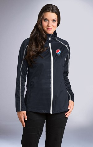 Women's Raglan Sleeve Lightweight Performance Jacket - Pepsi