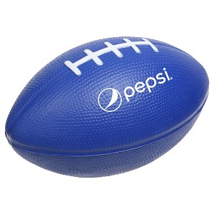 Large Football Stress Reliever - Pepsi