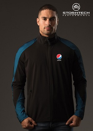 STORMTECH Men's Octane Lightweight Shell Jacket - Pepsi