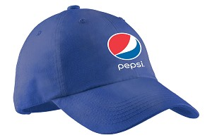 Ladies Garment Washed Cap - Pepsi