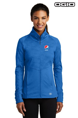OGIO® ENDURANCE Ladies Sonar Full-Zip - Pepsi