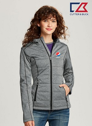 Cutter & Buck Ladies' Altitude Quilted Jacket