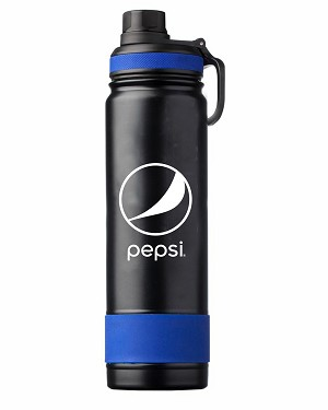 24oz Stainless Steel Vacuum Double-wall Water Bottle - Pepsi