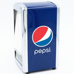 Pepsi Metal Napkin Holder.....Please Login To see our very Special Pricing