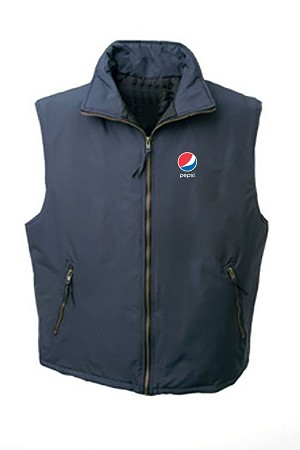 Canadian Made Thermal Quilted Vest - Pepsi