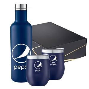 Marlborough Copper Vacuum Insulated Gift Set - Pepsi