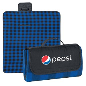 Roll-Up Picnic Blanket - Pepsi