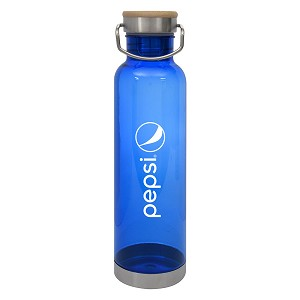 27 Oz. Tritan™ Culver Bottle With Bamboo Lid - Pepsi