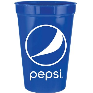16 oz Stadium Cup - 100pcs/Pack - Pepsi - Login For Special $