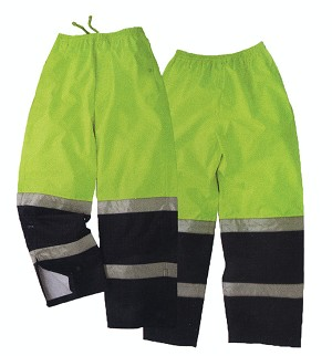 Duty Safety Rain Pants Two Tone - Pepsi