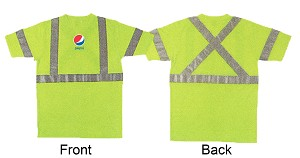 Short Sleeve Safety T-Shirt  - Pepsi