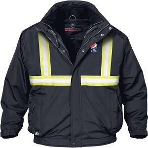 Men's Explorer 3-IN-1 Reflective Tape Jacket - Pepsi