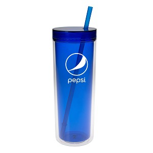 16 Oz. Double Wall Aria Tumbler - Pepsi