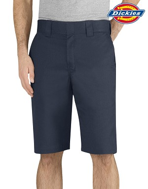"DICKIES Flex 11"" Regular Fit Work Short - Pepsi"