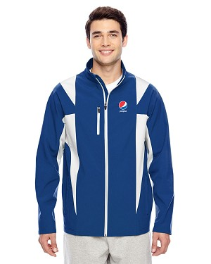 Men's Icon Colorblock Soft Shell Jacket - Pepsi