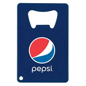 Credit Card Shaped Bottle Opener- Pepsi