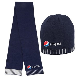 Dash Beanie and Edge Scarf Set