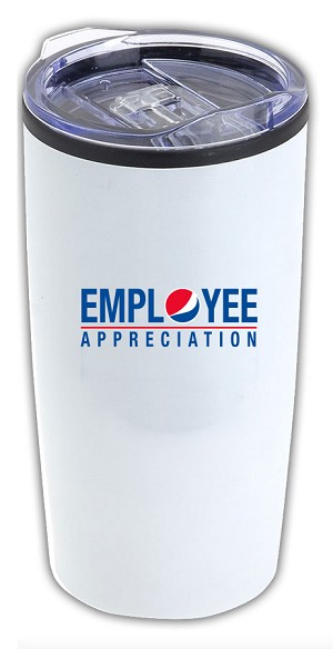 Employee Appreciation Vintage 20 oz. Stainless Steel/PP Tumbler