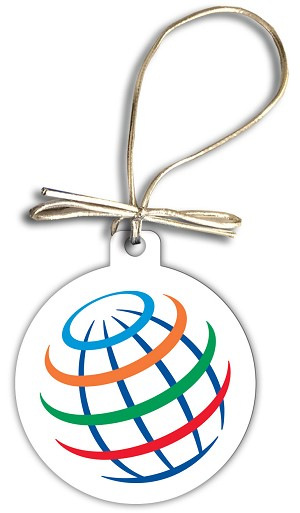 Pepsico Globe Holiday Ornament