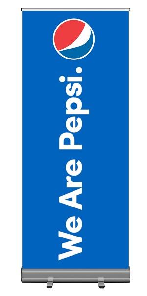 6ft Retractable Roll Up Banner - We Are Pepsi.....Please Login To see our very Special Pricing