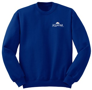 Comfort Zone Sweatshirt - Royal - Aquafina