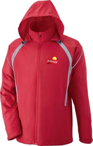 Sirius Men's Lightweight Jacket With Embossed Print - Fritolay