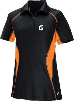 Ladies' Cool Logic Performance Zippered Polo - Gatorade