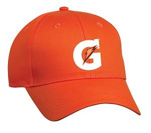 comfort zone twill cap orange gatorade